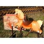 Vintage Rocking Horse With Springs Images