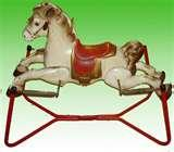 Pictures of Vintage Rocking Horse With Springs