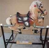 Pictures of Vintage Rocking Horses For Sale