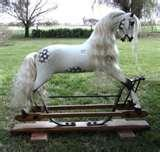 Pictures of Fibreglass Rocking Horse