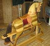 Pictures of Old Rocking Horse For Sale