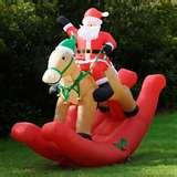 Inflatable Rocking Horse Photos