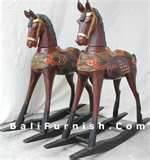 Handmade Wooden Rocking Horses Pictures