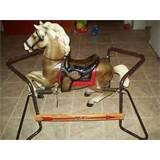 Radio Flyer Wooden Rocking Horse Images
