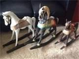 Photos of Wooden Rocking Horses Sale