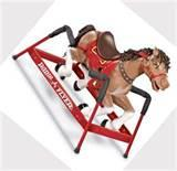 Rocking Horse With Springs Pictures