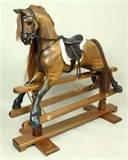Pictures of Victorian Rocking Horses