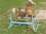 Rocking Horse With Springs Images