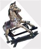 Pictures of Antique Rocking Horses