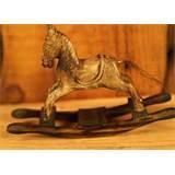 Photos of Hand Carved Wooden Rocking Horse