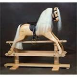 Pictures of Wooden Rocking Horses Sale