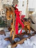 Photos of Hand Carved Rocking Horse