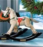 Pictures of Hand Carved Rocking Horse