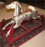 Antique Rocking Horse Images
