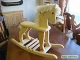 Pictures of Childs Rocking Horse