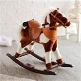 Pictures of Childrens Rocking Horses