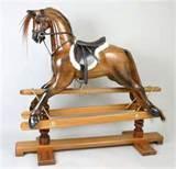 Photos of Wood Rocking Horses
