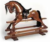 Wood Rocking Horses Images