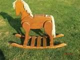 Solid Wood Rocking Horse Photos