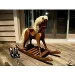 Solid Wood Rocking Horse Pictures