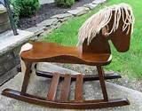 Pictures of Solid Wood Rocking Horse