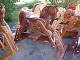 Images of Wood Rocking Horses