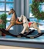 Photos of Hand Carved Rocking Horses