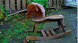 Pictures of Small Wooden Rocking Horse