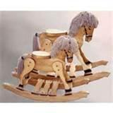 Photos of Small Wooden Rocking Horse
