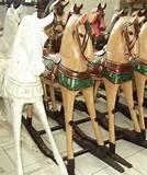 Rocking Horses Wooden Pictures