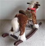 Pictures of Kids Rocking Horse