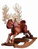 Moose Rocking Horse