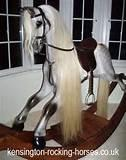 Pictures of Hand Carved Rocking Horses