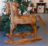 Hand Carved Rocking Horses
