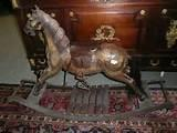 Traditional Wooden Rocking Horse Images