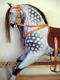 Photos of Traditional Wooden Rocking Horse