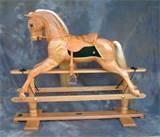 Oak Rocking Horse Images